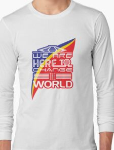 Captain EO - Change the World Long Sleeve T-Shirt