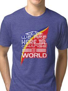 Captain EO - Change the World Tri-blend T-Shirt