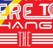 Captain EO - Change the World Sticker