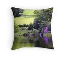 Late Spring on Lady Bower Throw Pillow