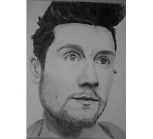 Drawing of Dan Smith. Photographic Print