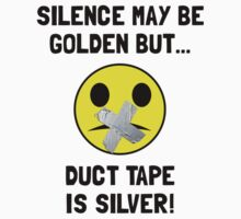 Duct Tape Silver Kids Clothes
