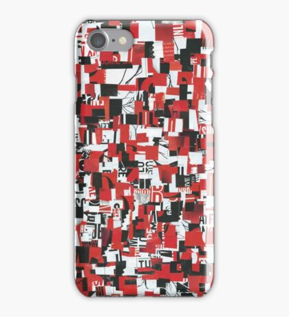Madness is the Method iPhone Case/Skin