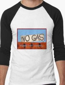 No Gas @ James Price Point Men's Baseball ¾ T-Shirt