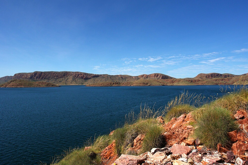 Lake Argyle - a man made masterpiece by georgieboy98