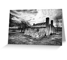 Cottage in the Vineyard Greeting Card