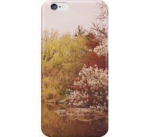 Beautiful Springtime Landscape - Central Park - New York City iPhone Case/Skin