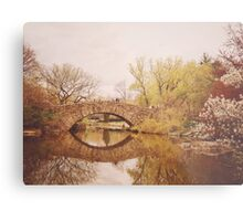Beautiful Springtime Landscape - Central Park - New York City Metal Print