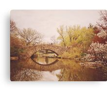 Beautiful Springtime Landscape - Central Park - New York City Canvas Print