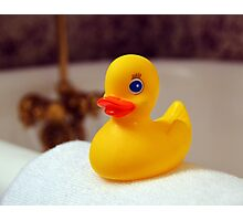 Rubber Ducky Photographic Print