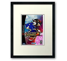 Sonic Adventure 2 Dreamcast Sega Cover Box Framed Print