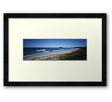 Wario Beach - South Coast, New South Wales Framed Print