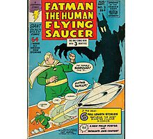 Fatman The Human Flying Saucer Photographic Print