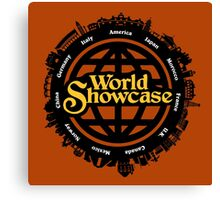 EPCOT World Showcase Canvas Print