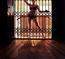 ...I like to rattle the cage... by Adriana Glackin