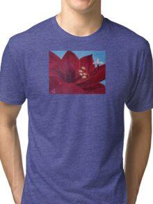 "Fine art. Painting. Oil. Flower ""Life PASSION"" Tri-blend T-Shirt"