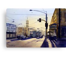 Morning Coffee, Richmond, Victoria Canvas Print
