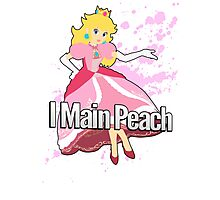 I Main Peach - Super Smash Bros. Photographic Print