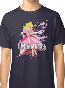 I Main Peach - Super Smash Bros. Classic T-Shirt