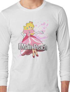 I Main Peach - Super Smash Bros. Long Sleeve T-Shirt
