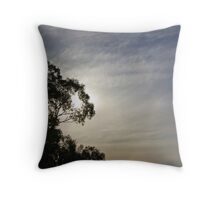 Things are looking up... Throw Pillow