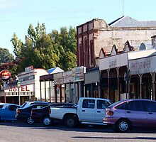 Historic gold rush township, Clunes by Julie Sleeman