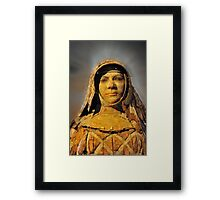 Head of Mary McKillop Framed Print