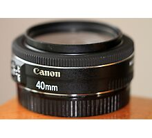 Canon EF 40mm f/2.8 STM Photographic Print