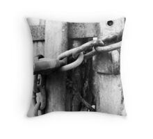 Another Link in the Chain Throw Pillow