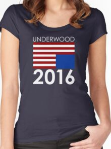 UNDERWOOD 2016 Women's Fitted Scoop T-Shirt