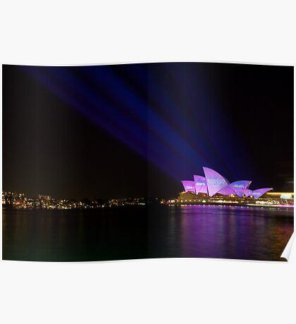 Vivid Sydney Light Festival - Emotion Poster