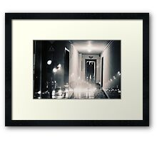 what is reality ? Framed Print