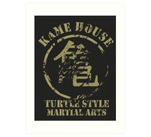 Kame House Symbol Art Print