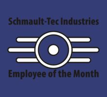 Schmault-Tec Employee of the Month by BearWithAKnife-