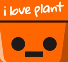 Mr. Plant Sticker