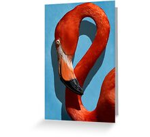 Curves, A Head Greeting Card