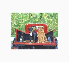 Antique Fire Truck with Dogs Unisex T-Shirt