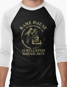Kame House Symbol Men's Baseball ¾ T-Shirt