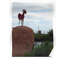 The Windmill Goat Poster