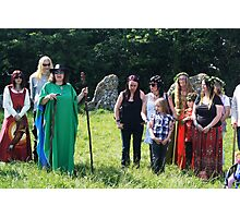 Druids at Rollright Photographic Print