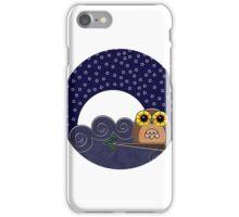 Night Owl - Circle Design iPhone Case/Skin