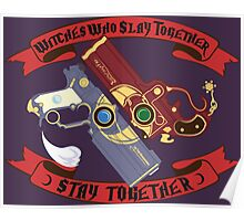 Slay Together, Stay Together - Bayonetta & Jeanne Poster