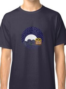 Night Owl - Circle Design Classic T-Shirt