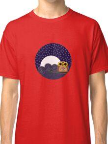 Night Owl - Circle Design Classic T-Shirt