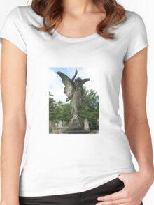 Graveyard Angel Women's Fitted Scoop T-Shirt