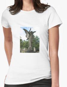 Graveyard Angel Womens Fitted T-Shirt