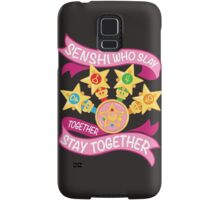 Slay Together, Stay Together - Sailor Scouts Clean Samsung Galaxy Case/Skin