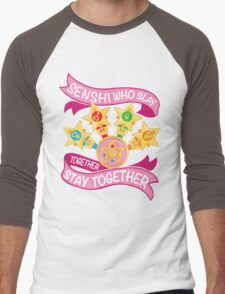 Slay Together, Stay Together - Sailor Scouts Clean Men's Baseball ¾ T-Shirt