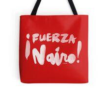 Fuerza Nairo Quintana : v1 - White Script Tote Bag