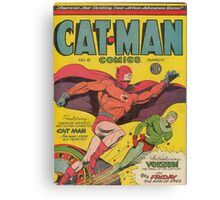 Cat-Man (Holyoke) Canvas Print